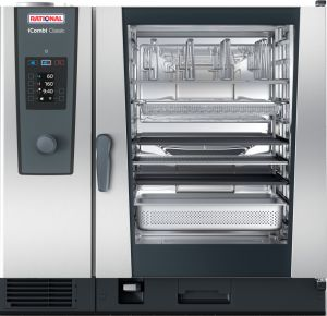 ПАРОКОНВЕКТОМАТ RATIONAL iCombi®  Classic 10-2/1 CE2GRRA.0001267 GAS ― Рациональ Россия