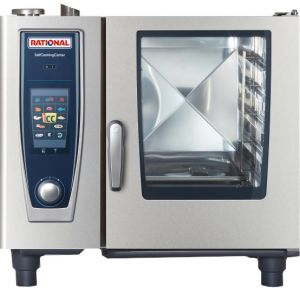 ПАРОКОНВЕКТОМАТ RATIONAL SelfCookingCenter® 61 С ТЕРМОКЕРНОМ SOUS-VIDE B618100.01.280 ― Рациональ Россия